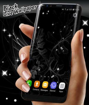 Black Live Wallpaper Free apk screenshot