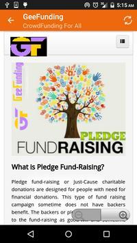 Gee Funding apk screenshot