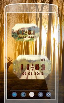 Forest Widget Clock screenshot 1