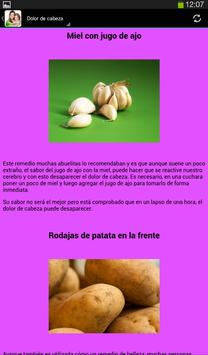 Remedios Caseros screenshot 6