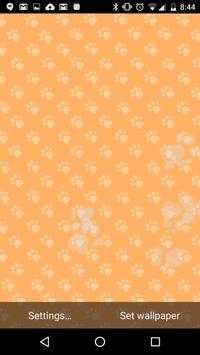 Puupy Paws Live Wallpaper apk screenshot
