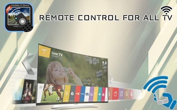 Remote Control for All TV : Universal TV Remote apk screenshot