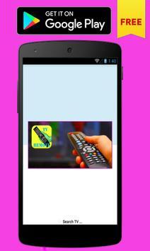 Remote control for Toshiba TV screenshot 1