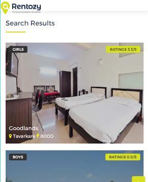 Rentozy - PG Accommodation Simplified screenshot 1