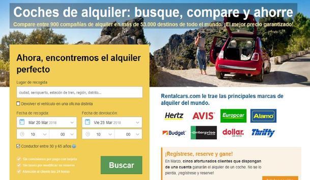 Rentalcars screenshot 4