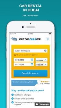 Car Rental 🚗 🚘🚙🚐 RentalCars24h APP poster