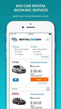 Car Rental 🚗 🚘🚙🚐 RentalCars24h APP apk screenshot