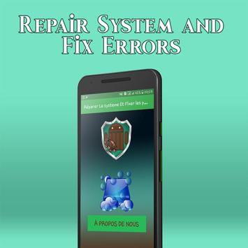 Repair system and Fix errors pro app 2018 poster