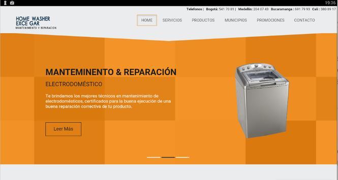 Reparacion de lavadoras screenshot 4