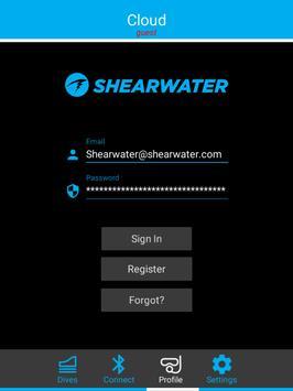Shearwater Cloud apk screenshot