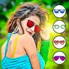 Woman Sunglasses Photo Editor simgesi