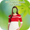 Girl T-Shirt Photo Suit Editor أيقونة