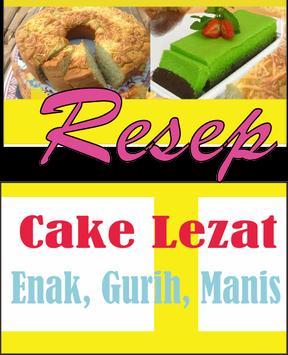 Resep Cake Lezat poster