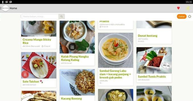 Buku resep makanan indonesia screenshot 3
