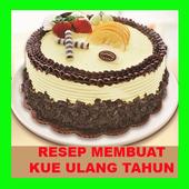 RESEP KUE ULANG TAHUN icon
