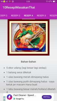 10 RESEPI MASAKAN THAI screenshot 1