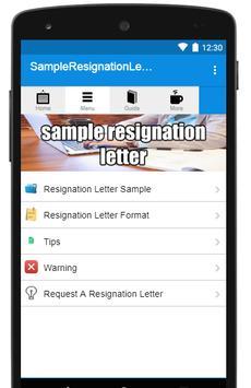 Resignation letter sample apk download free books reference app resignation letter sample apk screenshot spiritdancerdesigns Gallery