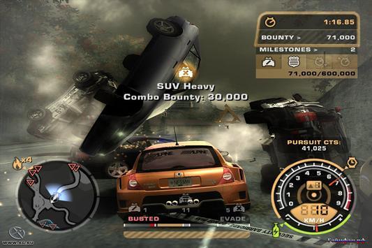Best Nfs Most Wanted Cheat screenshot 2