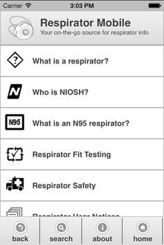 Respirator Mobile poster