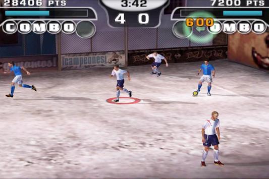 Cheats FIFA Stret 2 screenshot 1