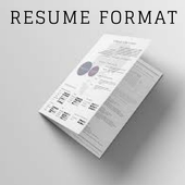 Resume Format icon