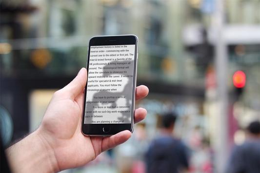 Resume Format apk screenshot