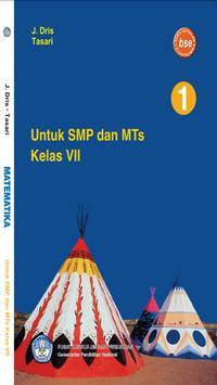Buku Matematika 7 SMP poster