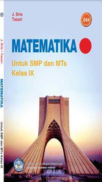 Buku Matematika 9 SMP poster