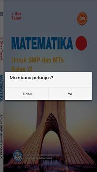 Buku Matematika 9 SMP screenshot 1