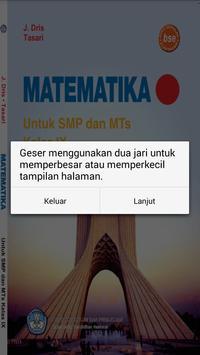 Buku Matematika 9 SMP screenshot 2