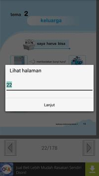 Buku Bahasa Indonesia 1 SD screenshot 4