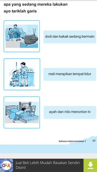 Buku Bahasa Indonesia 1 SD screenshot 7