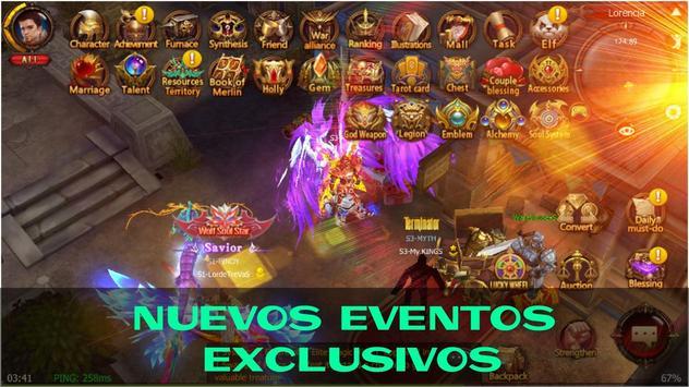RAGE MU: Español screenshot 1