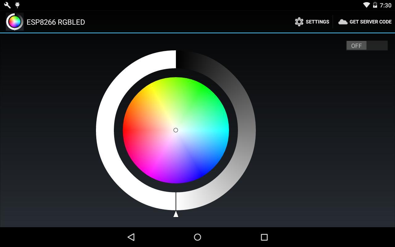 ESP8266 WiFi Control RGBLED for Android - APK Download