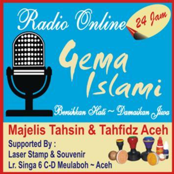 Radio Gema Islami poster