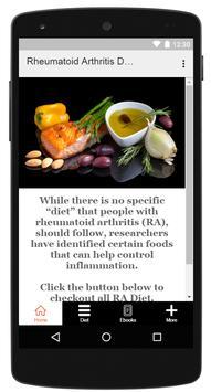 Rheumatoid Arthritis Diet screenshot 4