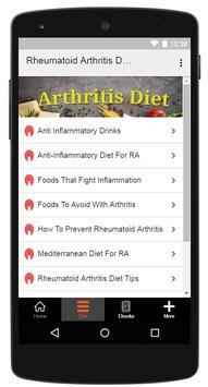 Rheumatoid Arthritis Diet screenshot 1