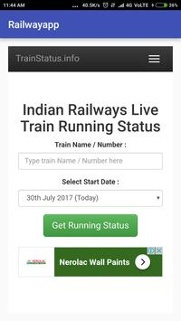 Railway App screenshot 3