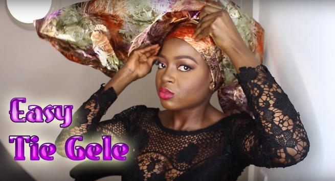 Learn How to Tie Gele poster