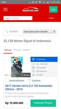 Harga Motor Bekas screenshot 3