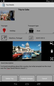 TripRecorder apk screenshot
