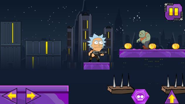 Rick zombie hunter adventure apk screenshot