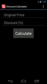 Discount Calculator poster