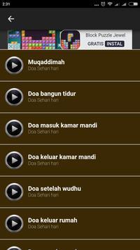 Bacaan Doa Sehari hari screenshot 1
