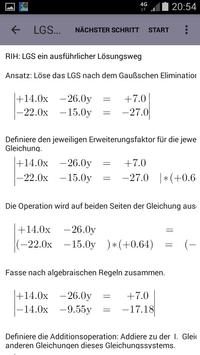 Linear Equations (SLE) Lite apk screenshot