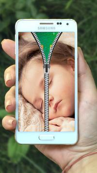 Baby Zipper Lock Screen screenshot 9