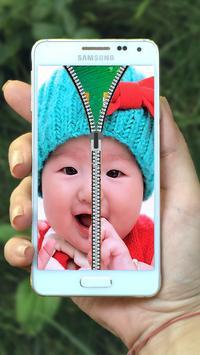Baby Zipper Lock Screen screenshot 10