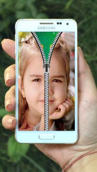 Baby Zipper Lock Screen screenshot 1