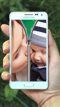 Baby Zipper Lock Screen screenshot 3