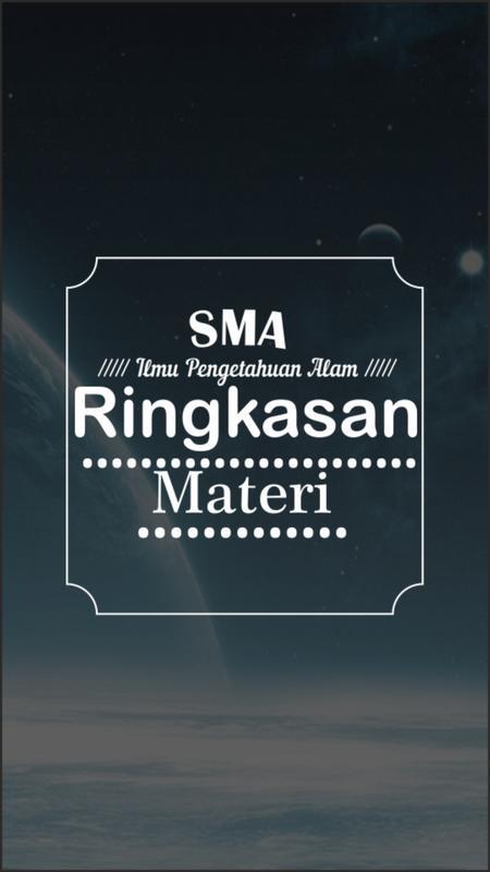 Ringkasan Top Sukses SMA IPA poster ...